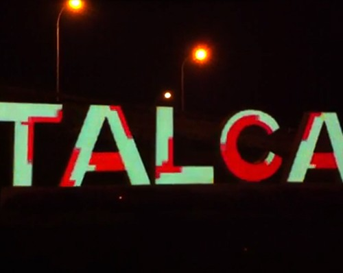 Mapping Letras acceso a Talca (work in progress)